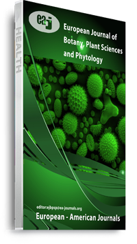 European Journal of Botany, Plant Sciences and Phytology