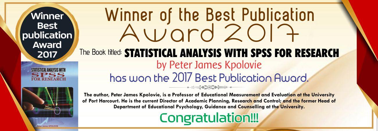 winner best paper award 2017
